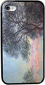 Rikki KnightTM Claude Monet Art Antibes seen from La Salis Design Case For Samsung Note 2 Cover Cover (Black Hard with bumper protection) Case For Samsung Note 2 Covers