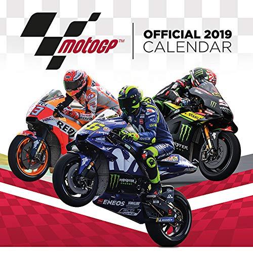 Calendar 2019 Moto GP Motorcycle Race Wall Calendar 30 x 30 cm