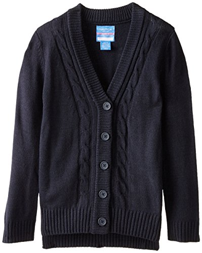 Nautica Girls Uniform Boyfriend Sweater