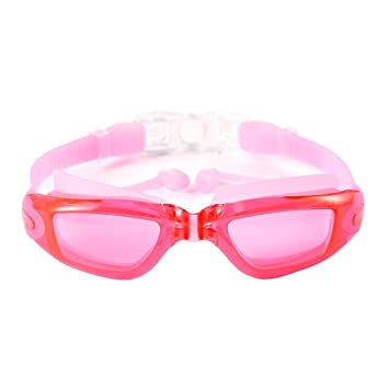 82059781376f Aolvo Swimming Goggles with Ear Plugs