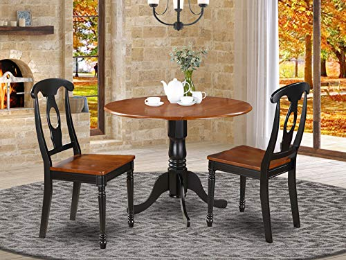 3 Pc small Kitchen Table set- small Table and 2 Dining Chairs