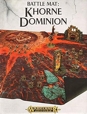 Warhammer Age of Sigmar Battle Mat: Khorne Dominion ( 64-22 ) Games Workshop from Games Workshop