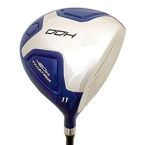 Mens Right Handed Driver - Dunlop NEW DDH 11° 460cc Driver Graphite 55 gram Regular Flex TiMatrix Blue