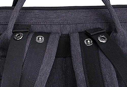Hombres Y Mujeres Casuales Anti-robo Bolsa De Hombro Mochila De Viaje Mochila Anti-robo De La Computadora UPS Carga Estudiante Mochila Grey