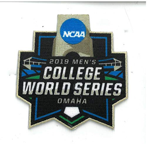 2019 College World Series Patch BASEBALL Omaha Full Color Embroidered Patch
