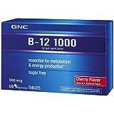 GNC B-12 1000 Dietary Supplement 1000mcg 120 Vegetarian Tablets