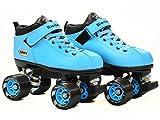 Riedell Skates Dart Roller Skate,Light Blue,10