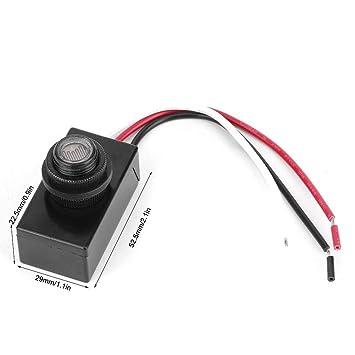 Jeffergarden 8V-50VDC Interruptor fotoeléctrico Sensor de luz ...
