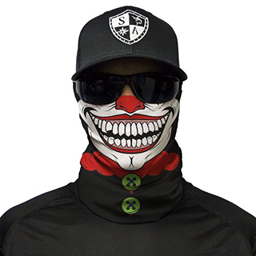 S A CO Official Clown Face Shield, Outdoor Activities, Protects Face Against The Elements]()