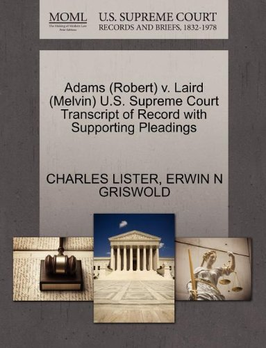 ird (Melvin) U.S. Supreme Court Transcript of Record with Supporting Pleadings ()