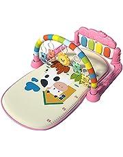fdsfa Baby piano gymmatta, 4-i-1 lekmatta lek gym aktivitet lekmatta, musikleksak musik aktivitet matta golv gym aktivitet lekmatta, sparka spela piano fitness leksaker spädbarn pedagogisk golvmatta