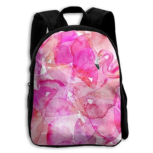 School Season Kids Shoulder Bag Toddler Bookbag Rucksack Child Flamingo Rose Red Backpack Handbags - Sunglasses Class Working