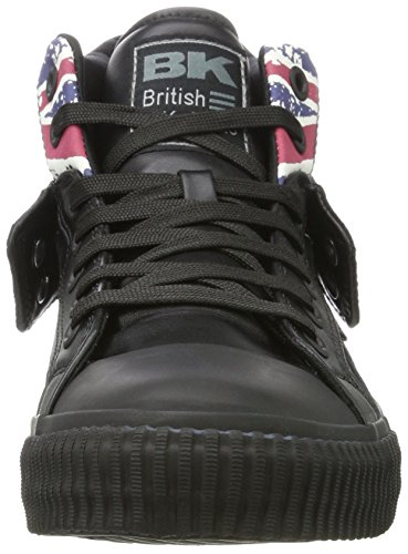 Alte Uomo Knights Sneaker Black Roco Union Black Jack British Textile Schwarz dBtwFIptxq