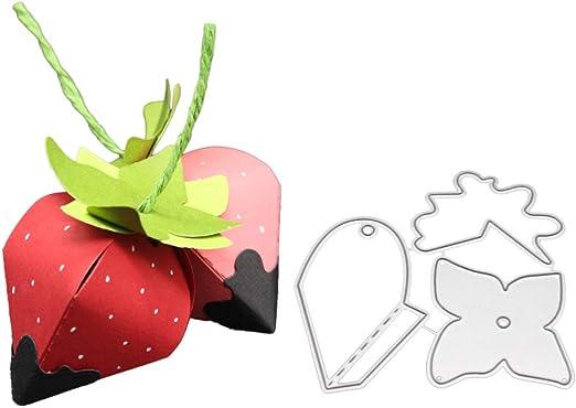 +Dies...to die for metal cutting craft die Strawberries and Strawberry plant
