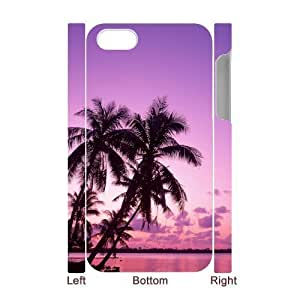 3D Bumper Plastic Case Of Pink customized case For Iphone 4/4s