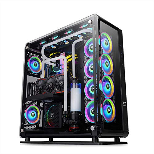 Thermaltake Core P8 Tempered Glass Full Tower Chassis, Closed or open styled case with Tt LCS Certification