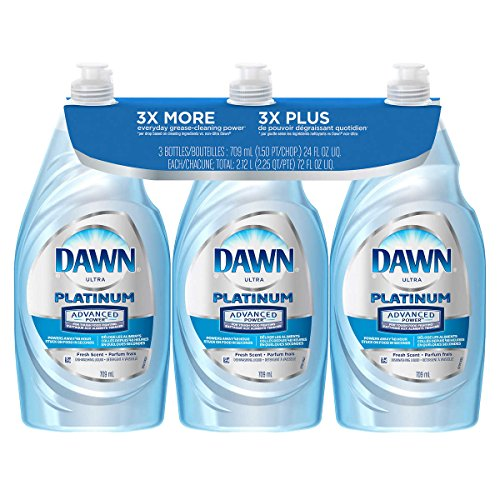 (Dawn Dish Soap, Ultra Dishwashing Liquid, Original, 24 Fl. Oz (24 Oz Pack of 3))