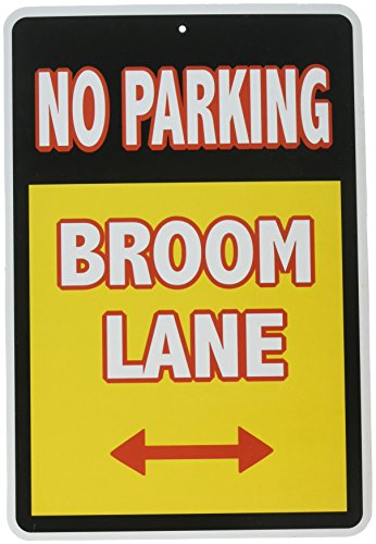 Forum Novelties Warning Sign Witch Parking Halloween Party Decorations ()