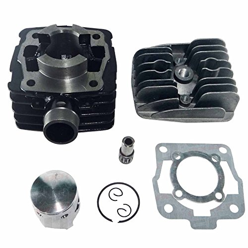 50 Caliber Racing Top End Cylinder Kit for Air Cooled KTM 50 Mini Junior Senior Adventure AC Pit Bike Motorcycle 2002-2008 [4449-A11] (Ktm Kit Mini)