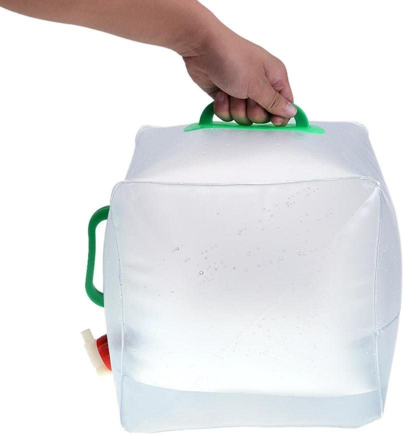 20L Portable Folding Water Bag Waterskin Outdoor Camping Hiking Bucket ttnight Collapsible Water Container