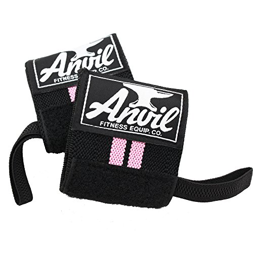 Women's Wrist Wraps - Pair of Adjustable Wrist Straps, Wrist Brace, Wrist Support Bands, Lifting Wraps for Cross fit, Bodybuilding, Fitness, Exercise and Weightlifting (Best Workout Wrist Support)