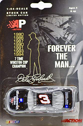 2002 - Action/NASCAR - Dale Earnhardt Forever The Man. 7X Winston Cup Champion - 1:64 Scale Die Cast - Monte Carlo - Rare - Mint ()