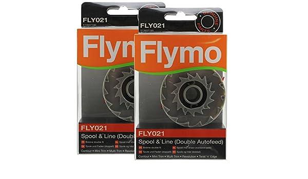 Flymo Original Multi Trim 250d 250DX desbrozadora Bobina y sedal ...