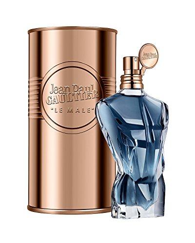 - JEAN PAUL GAULTIER Le Male Essence De Parfum Eau De Parfum Intense Natural Spray For Men Full Size 125 mL / 4.2 FL.OZ. Factory Sealed. In Metal Jar. Made in Spain.