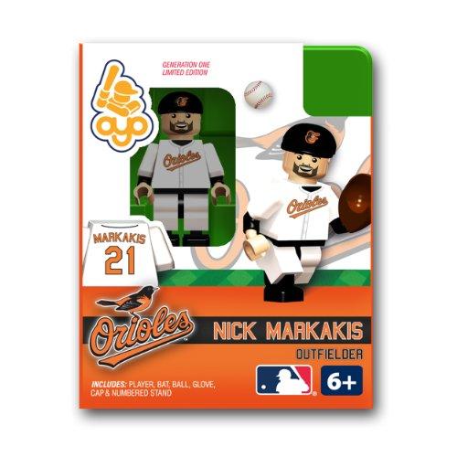 Nick Markakis Baltimore Orioles (MLB Baltimore Orioles OYO Figure-Nick Markakis)
