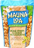Mauna Loa Maui Onion & Garlic Macadamia Nuts, 11-Ounce Bag (Pack Of 12)