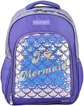 ROCO BAG KNAPSACK 17inch with pencil case
