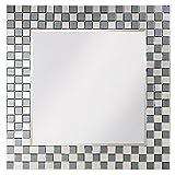 Howard Elliott 9049 Michael Square Mirror, 42 x 42-Inch, Mosaic