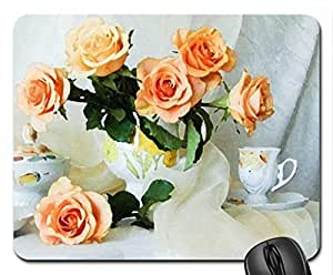 For Andonia Mouse Pad, Mousepad (Flowers Mouse Pad, 10.2 x 8.3 x 0.12 inches)