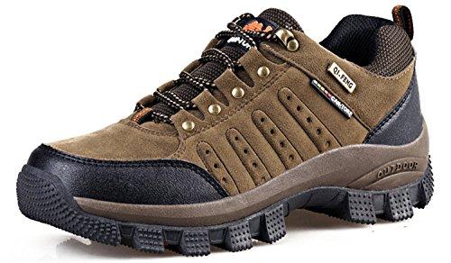 Rainstar Unisex Trekking Escursionismo Scarpa Sportiva Uomo Donna Outdoor Walking Sneaker Marrone