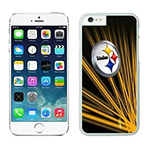 NFL iPhone 6 4.7 Inches Case Pittsburgh Steelers White iPhone 6 Cell Phone Case HGEROVFD3606