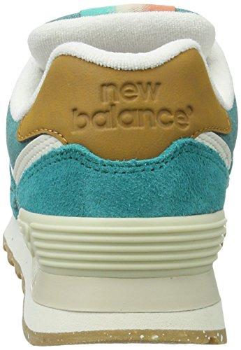 Ginnastica Donna New Balance turquoise Blu Scarpe Wl574seb Da PAAzwxUO