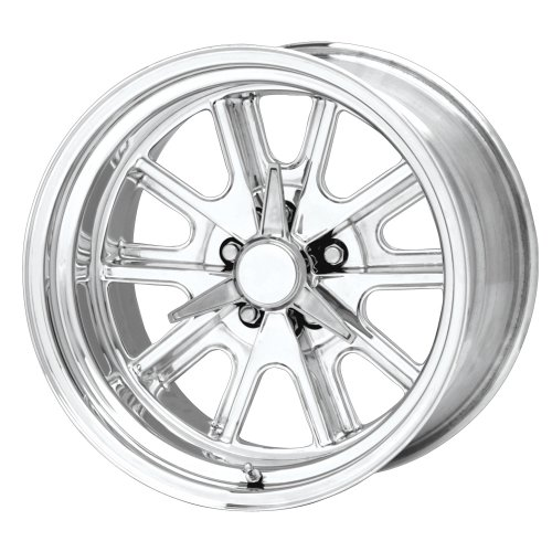 Racing 5 Spoke (American Racing Hot Rod Shelby Cobra VN427P Polished Wheel (17x8