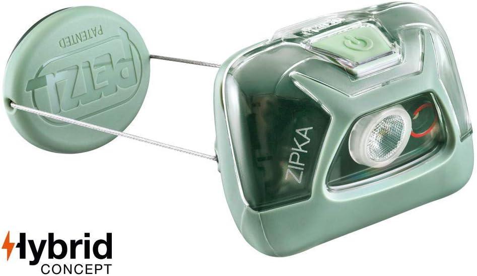 PETZL, ZIPKA Headlamp, 300 lumens, Ultra-Compact Headlamp, Green : Sports & Outdoors