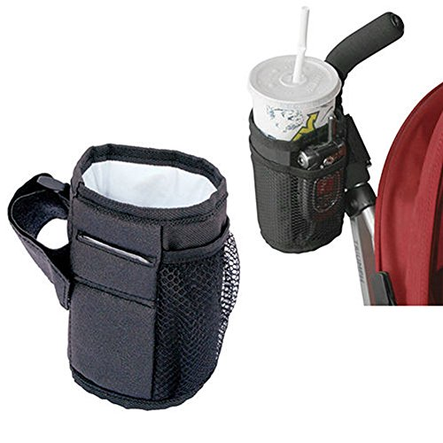 BUYITNOW Stroller Mug Holder Waterproof Oford Fabric Keep Warm Side Bottle Rack by BUYITNOW