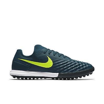 Nike Mens MagistaX Finale II Turf Midnight Turqoise/Volt Size 6.5