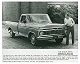 1973 Ford F100 Pickup Truck Photo Poster