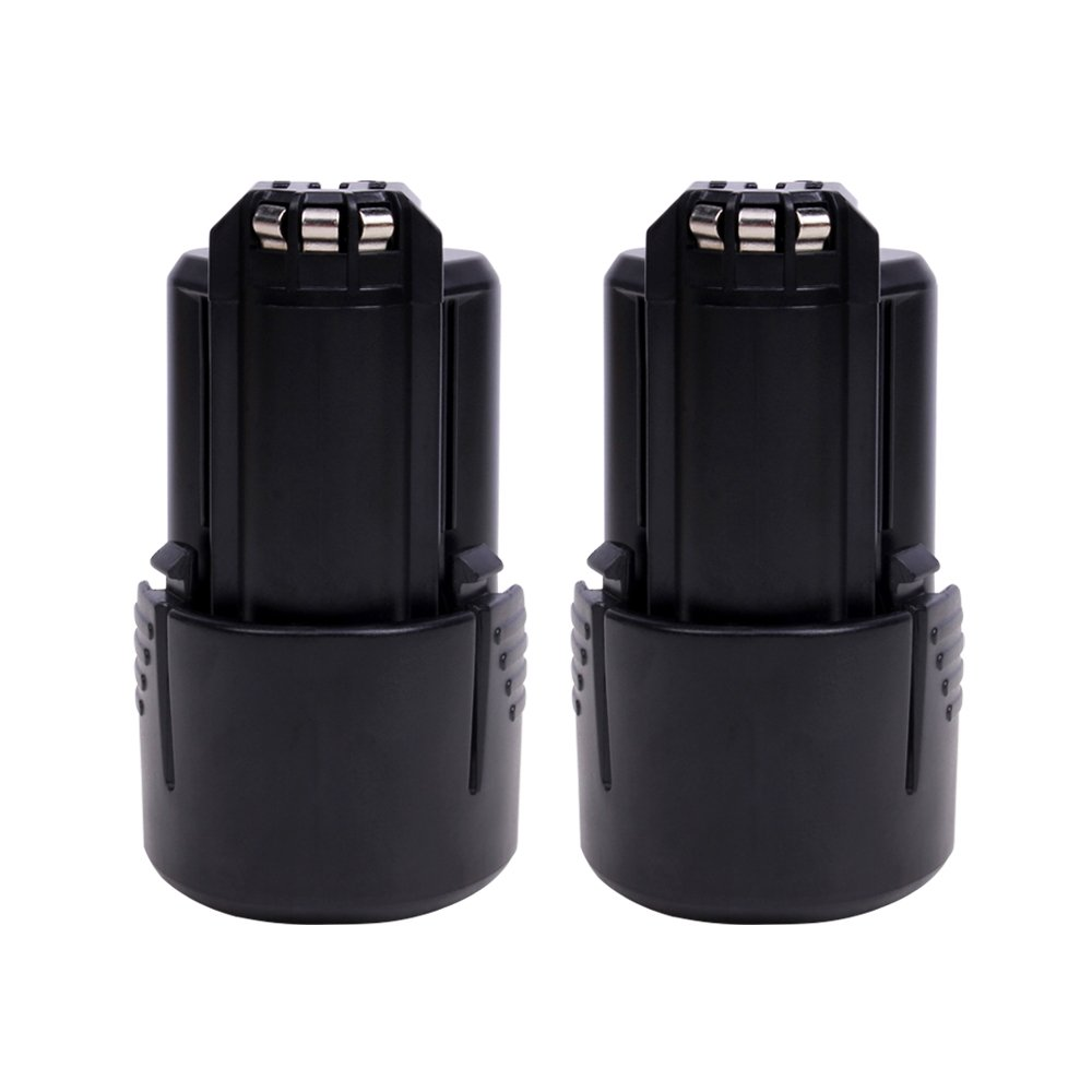 VANON 2PCS 2000mAh 12V/10.8V Li-ion Rechargeable Battery Replacement for Bosch BAT411 BAT411A BAT412 BAT413 PS30 2 607 336 864