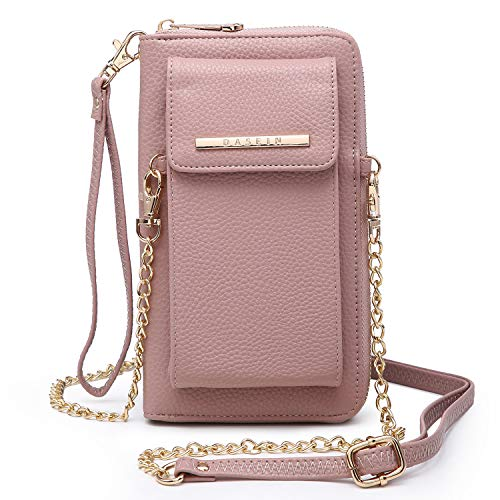 Cellphone Wallet Purse Phone Pouch Wristlet Clutch Crossbody Shoulder Bag – 12 Slots