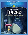 Cover Image for 'My Neighbor Totoro (Two-Disc Blu-ray/DVD Combo)'