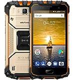 Ulefone Armor 2 - 5.0 pollici FHD IP68 impermeabile 4G Android 7.0 smartphone, Helio P25 Octa Core 2.6GHz 6GB RAM 64GB ROM, 13MP + 16MP fotocamera NFC GPS 4700mAh carica veloce - Oro