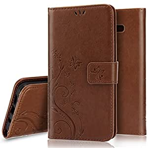 Amazon.com: Galaxy S8 Case, Galaxy S8 Wallet Case [Stand Feature