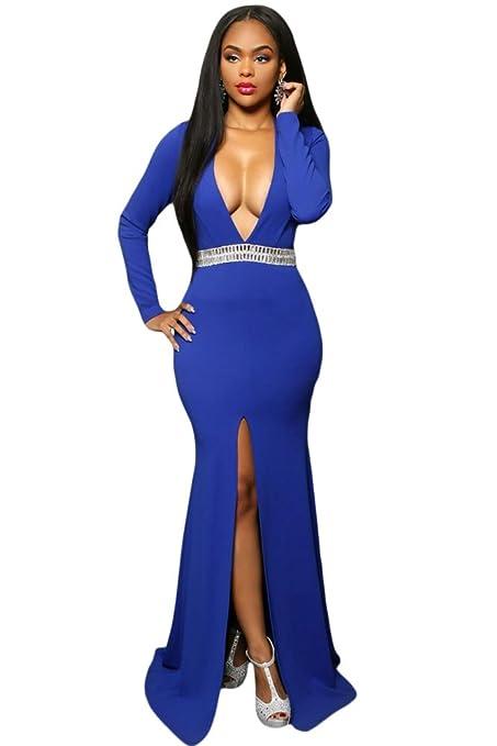 Diseño para mujer azul cintura e instrucciones para hacer vestidos de cóctel de raso con diseño