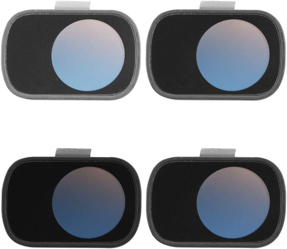 runnerequipment Drone Lens Filter ND4 ND8 ND16 ND32 Waterproof Filter Set for Mavic Mini 4PCS
