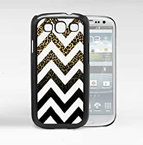 Cute Leopard Chevron Hard Snap On Cell Phone Case (Samsung Galaxy S3 I9300)