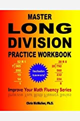 Master Long Division Practice Workbook: Improve Your Math Fluency Series Paperback